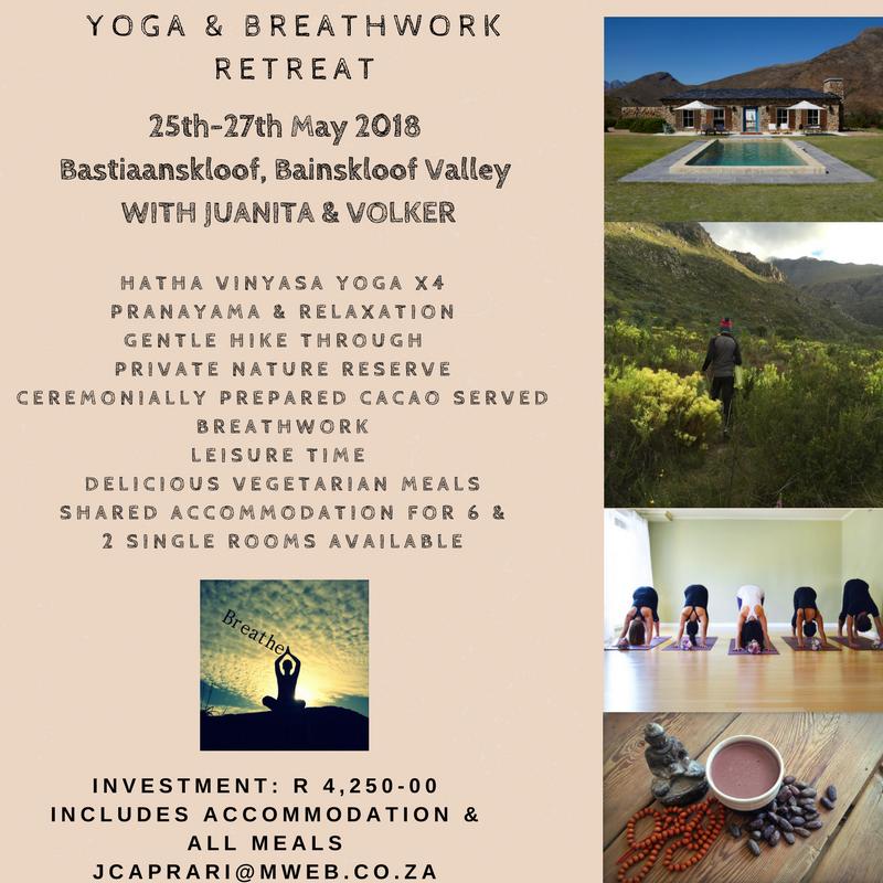 Yoga & Breathwork Retreat May 2018