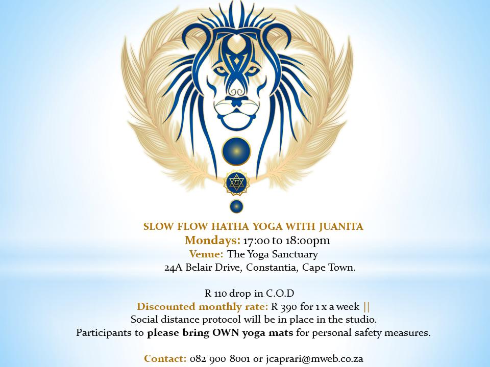HeartWorks with Juanita Yoga Flyer November 2020
